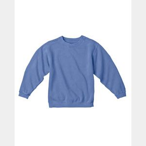Youth 10 oz. Garment-Dyed Crew Sweatshirt Thumbnail