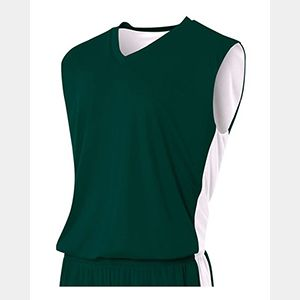 Adult Reversible Moisture Management Muscle Shirt Thumbnail