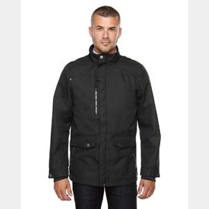 Men's Uptown Three-Layer Light Bonded City Textured Soft Shell Jacket Thumbnail
