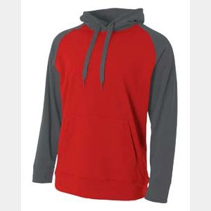 Men's Color Block Tech Fleece Hoodie Thumbnail
