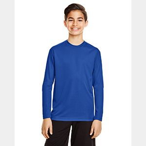 Youth Zone Performance Long-Sleeve T-Shirt Thumbnail