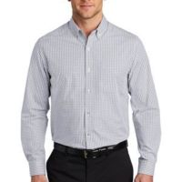 ® Broadcloth Gingham Easy Care Shirt Thumbnail