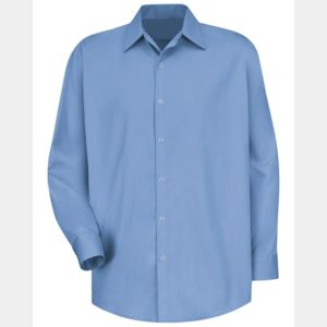 Long Sleeve Specialized Cotton Work Shirt Long Sizes Thumbnail