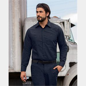 Men's Long Sleeve Mimix Work Shirt - Long Sizes Thumbnail