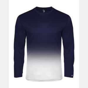 Youth Ombre Long Sleeve T-Shirt Thumbnail