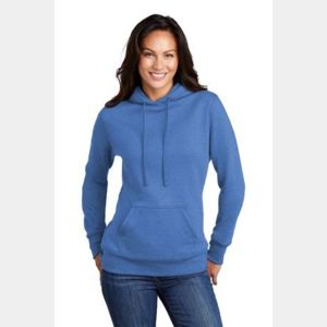 ® Ladies Core Fleece Pullover Hooded Sweatshirt Thumbnail