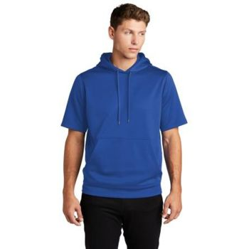 ® Sport Wick ® Fleece Short Sleeve Hooded Pullover Thumbnail