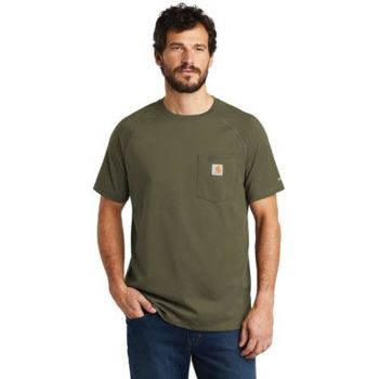 Force ® Cotton Delmont Short Sleeve T Shirt Thumbnail