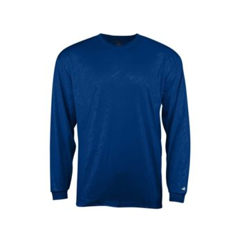 Line Embossed Long Sleeve Tee Thumbnail
