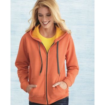 Heavy Blend™ Women's Vintage Full-Zip Hooded Sweatshirt Thumbnail