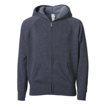 Youth Lightweight Special Blend Raglan Zip Hood Thumbnail