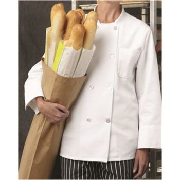 Eight Pearl Button Chef Coat Long Sizes Thumbnail