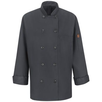 Women's Mimix™ Chef Coat with OilBlok Thumbnail