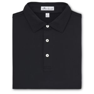 Peter Millar Solid Stretch Jersey Polo Self Collar Thumbnail