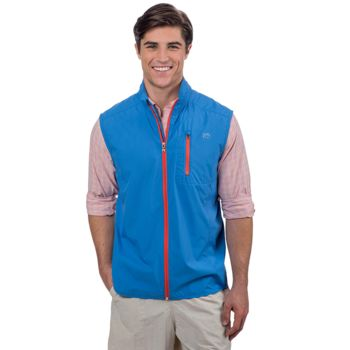 Southern Tide Men's Cabana Admiral Packable Vest Thumbnail