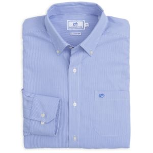 Southern Tide Men's Wedgewood Stripe Sport Shirt Thumbnail