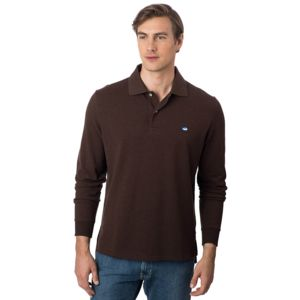 Southern Tide Men's Long Sleeve Heathered Skipjack Polo Thumbnail